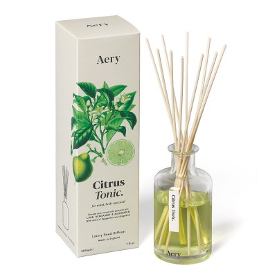 Aery & Relax Reed Diffuser - Lemongrass Cedar Patchouli