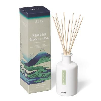 Aery Matcha Green Tea Reed Diffuser - Citrus & Precious Woods
