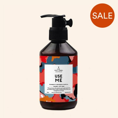 Use Me Hand Lotion - The Gift Label