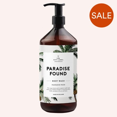 Paradise Found Body Wash - The Gift Label