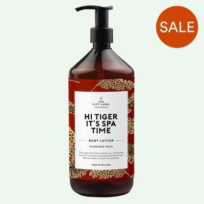Hi Tiger Body Lotion - The Gift Label