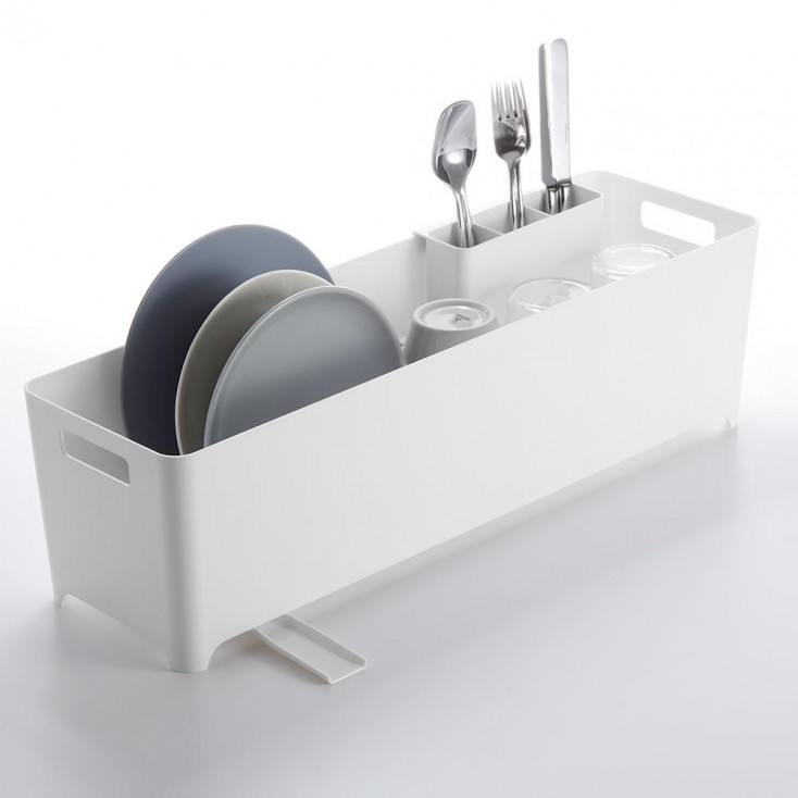 Yamazaki Tower Slim Dish Drainer Basket