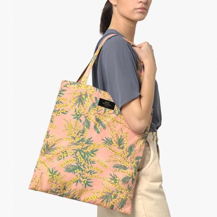 Wouf Mimosa Foldable Tote Bag
