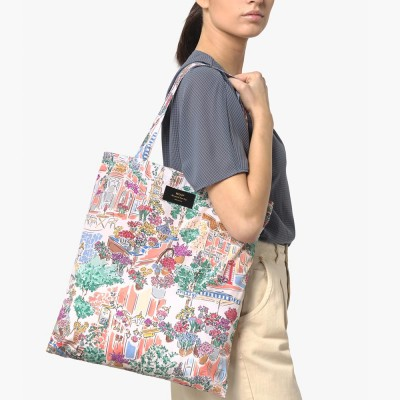 Wouf Market Foldable Tote Bag