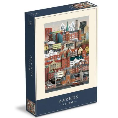 Aarhus Jigsaw Puzzle 1000 Piece
