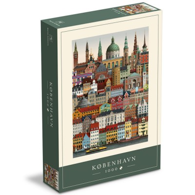 Copenhagen Jigsaw Puzzle 1000 Piece