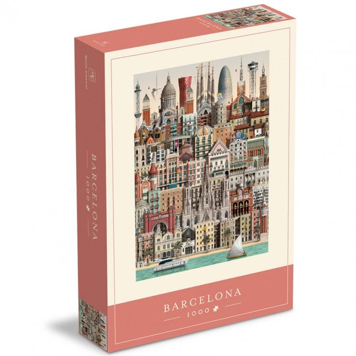Barcelona Jigsaw Puzzle 1000 Piece