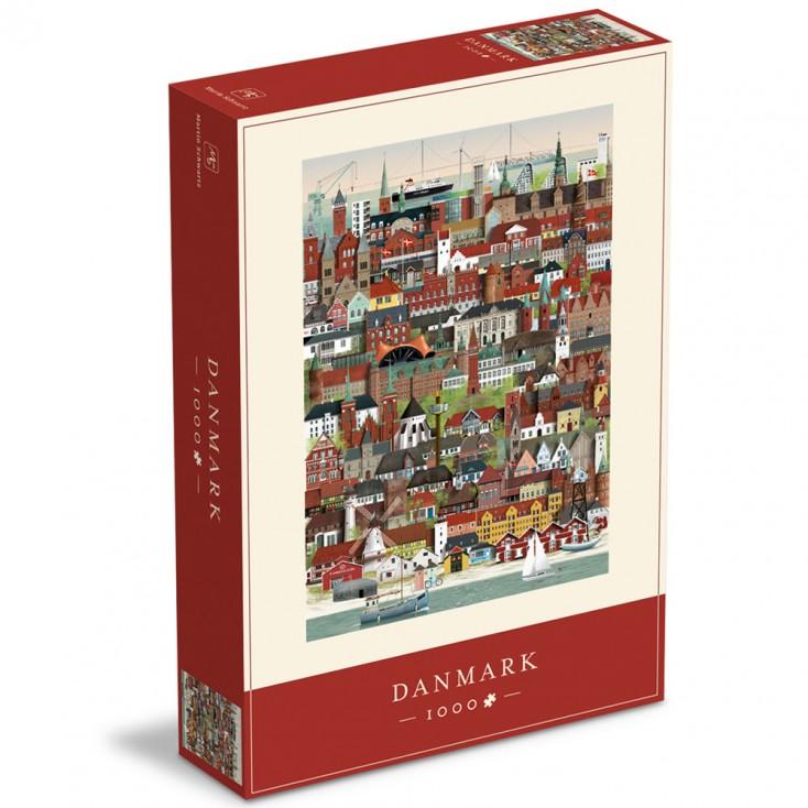 Denmark Jigsaw Puzzle 1000 Piece