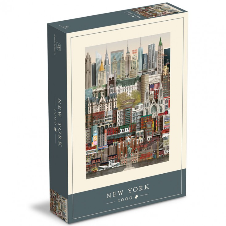 New York Jigsaw Puzzle 1000 Piece