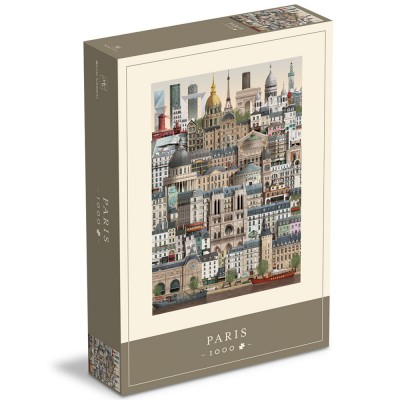 Paris Jigsaw Puzzle 1000 Piece