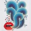Jonathan Adler Lips 750 Piece Shaped Puzzle