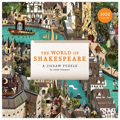 The World of Shakespeare 1000 Piece Puzzle