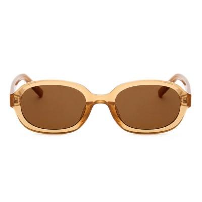A.Kjaerbede Sunglasses - Bob Light Brown Transparent