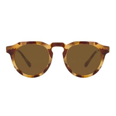 A.Kjaerbede Sunglasses - George Light Demi Brown