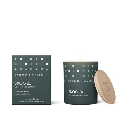 Skandinavisk Mini Scented Candle - Skog (Forest)