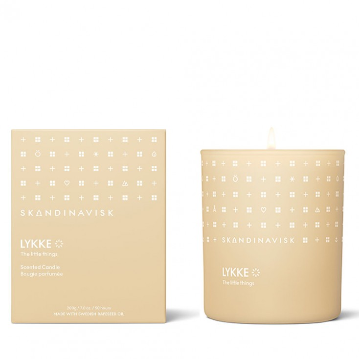 Skandinavisk Scented Candle - Lykke (Happiness)