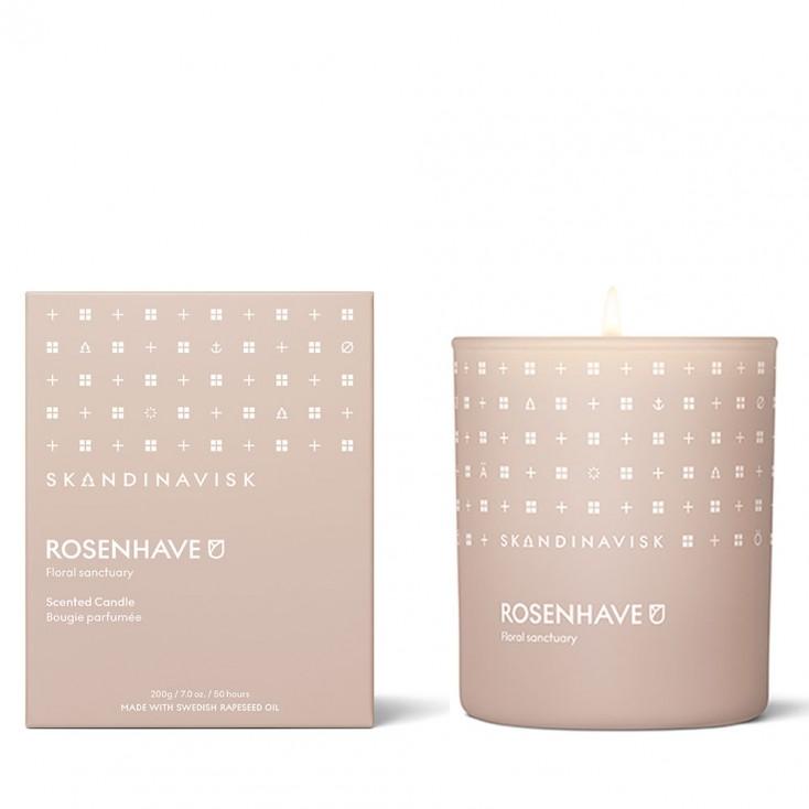 Skandinavisk Scented Candle - Rosenhave (Rose Garden)