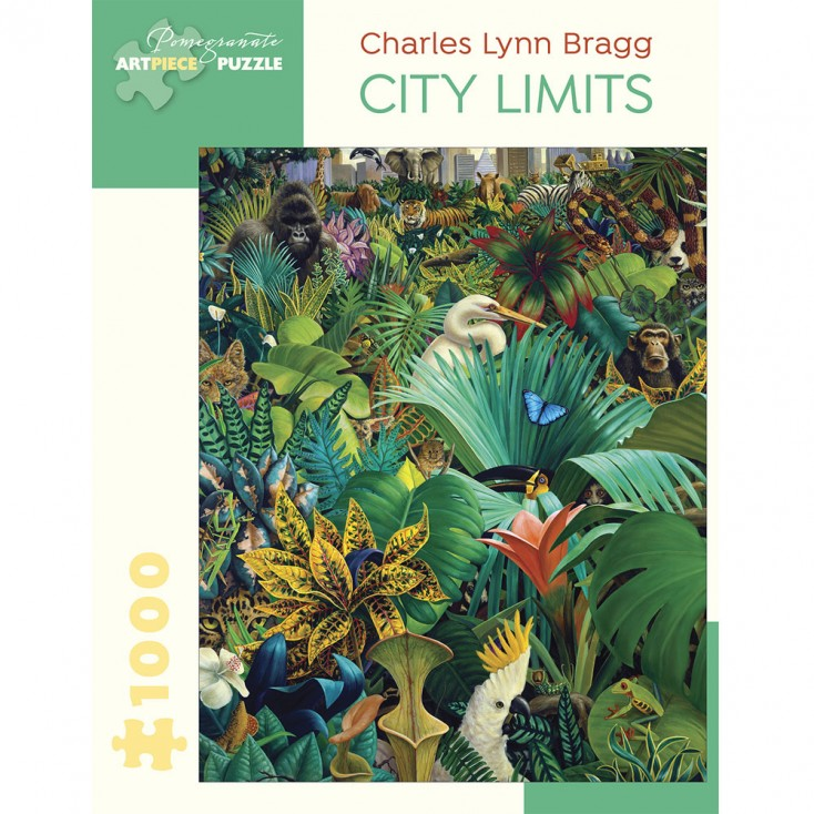Pomegranate Charles Lynn Bragg City Limits Jigsaw