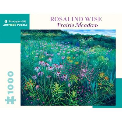 Pomegranate Rosalind Wise Prairie Meadow 1000 Piece Jigsaw Puzzle