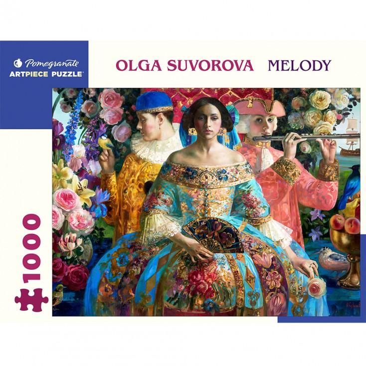 Pomegranate Olga Suvorova Melody 1000 Piece Jigsaw Puzzle