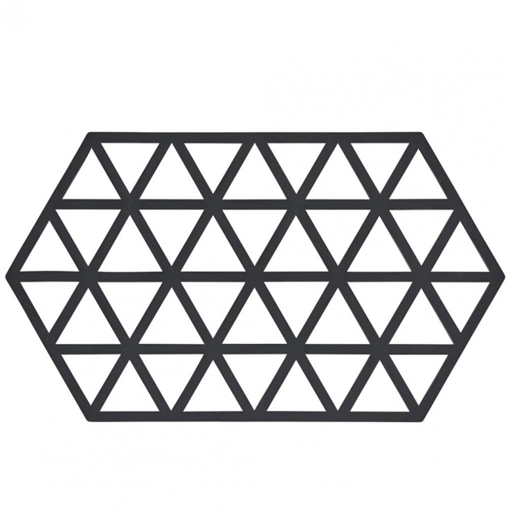 Zone Denmark Large Triangle Trivet - Black