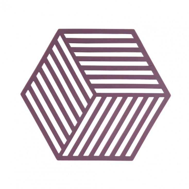 Zone Denmark Hexagon Trivet - Beetroot