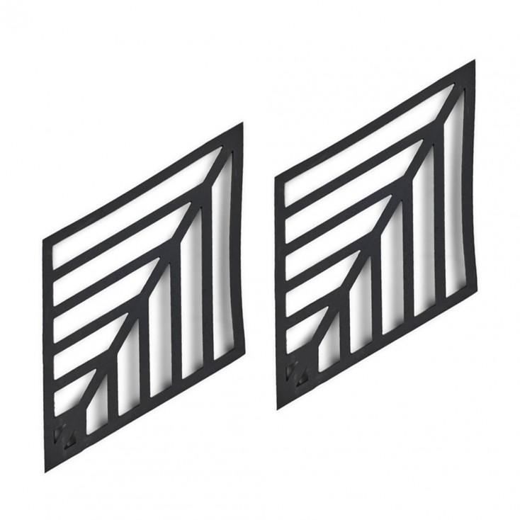 Zone Denmark Black Leaf Trivet - Set Of 2