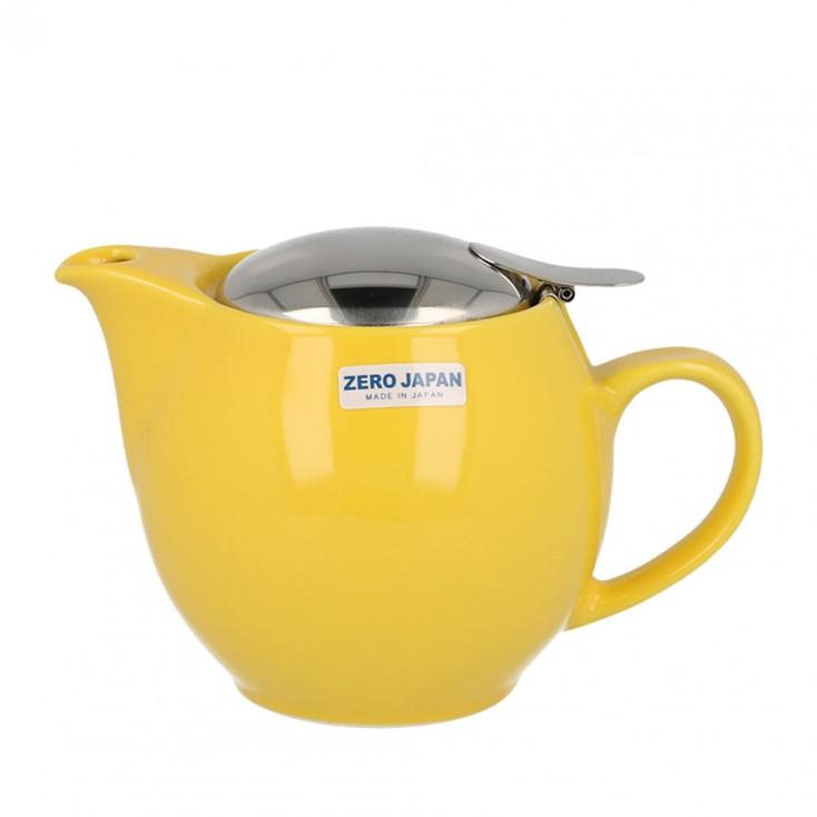 Zero Japan Teapot 450ml - Yellow Pepper