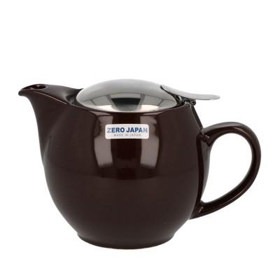 Zero Japan Teapot 450ml - Dark Chocolate