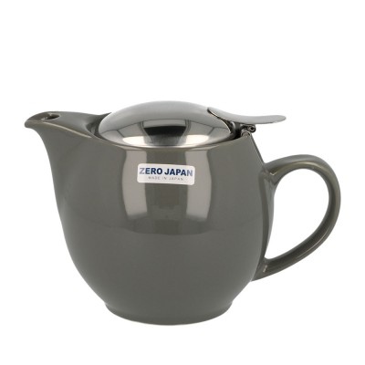 Zero Japan Teapot 450ml - Steel Grey