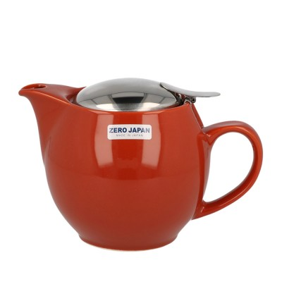 Zero Japan Teapot 450ml - Brick Red