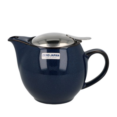 Zero Japan Teapot 450ml - Jeans Blue