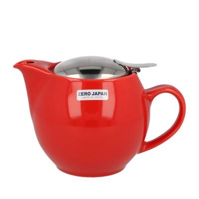 Zero Japan Teapot 450ml - Tomato