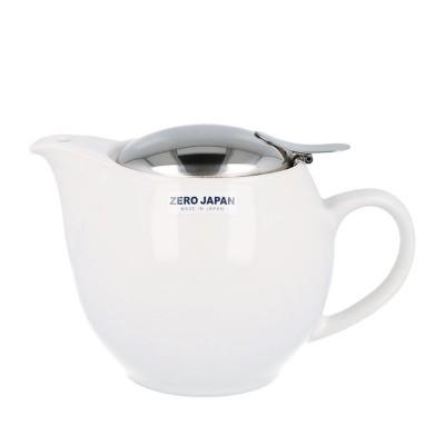 Zero Japan Teapot 450ml - White