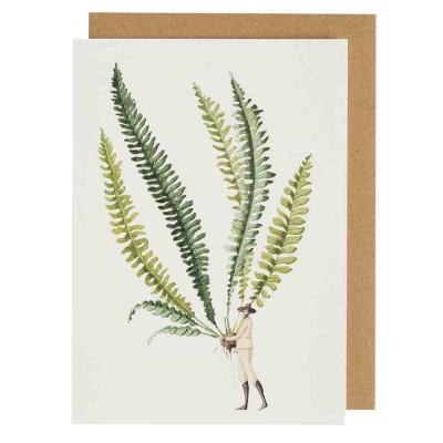 Laura Stoddart Fabulous Ferns 1 Greeting Card