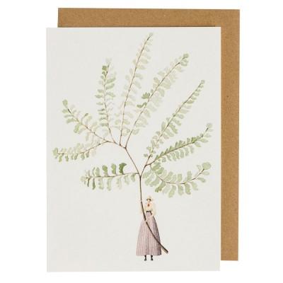 Laura Stoddart Fabulous Ferns 2 Greeting Card