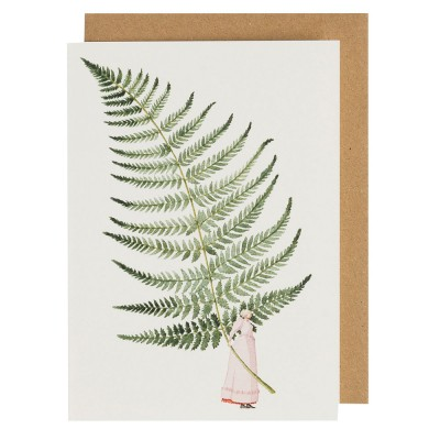 Laura Stoddart Fabulous Ferns 3 Greeting Card