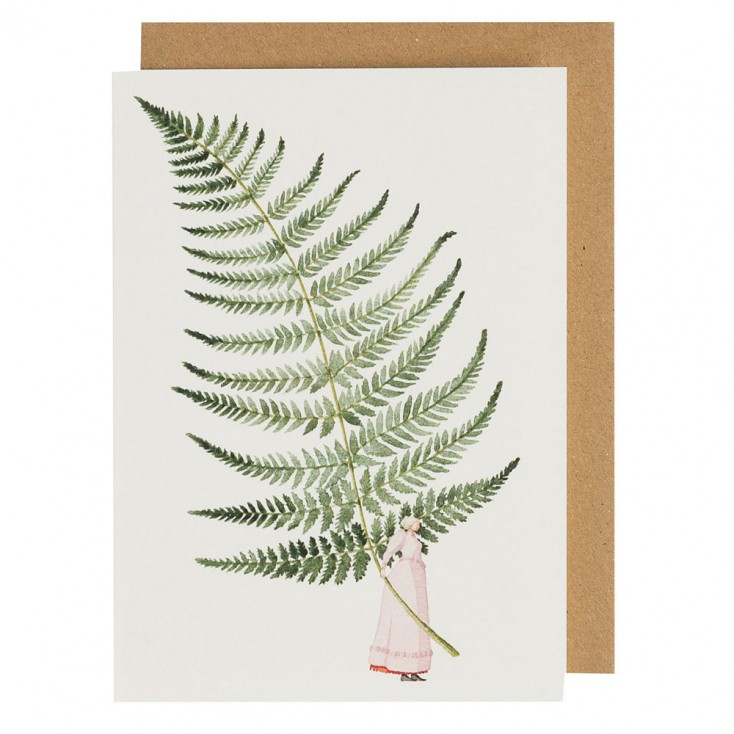 Laura Stoddart Greeting Card - Fabulous Ferns 3