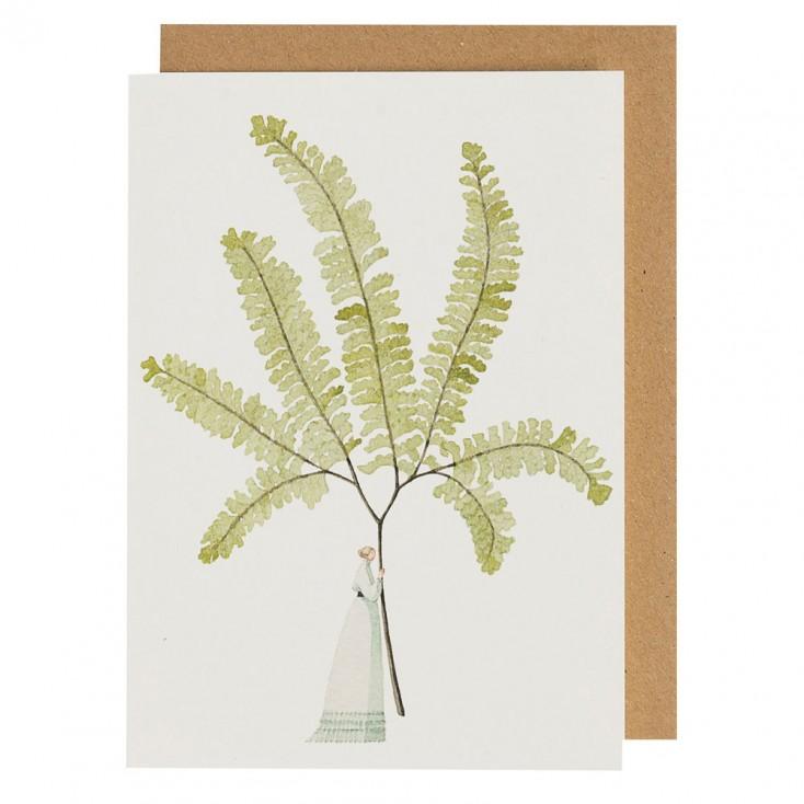 Laura Stoddart Fabulous Ferns 4 Greeting Card