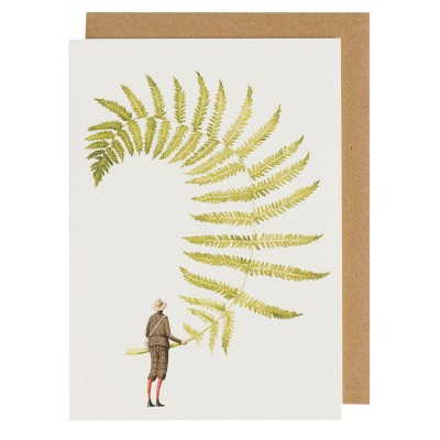 Laura Stoddart Fabulous Ferns 5 Greeting Card