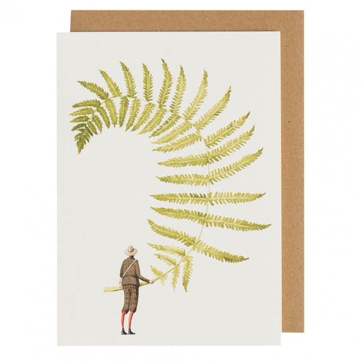 Laura Stoddart Greeting Card - Fabulous Ferns 1