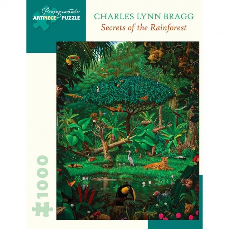 Pomegranate Charles Lynn Bragg Secret Rainforest Jigsaw