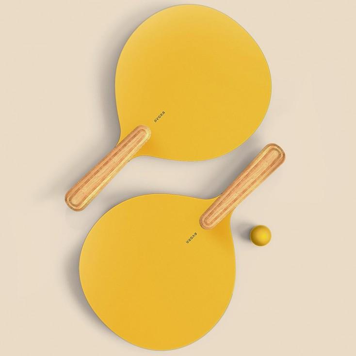 Avora Life Bat & Ball - Yellow