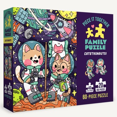 Piece It Together Family Puzzle - Catstronauts