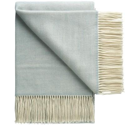 Porto Wool Throw - Dawn Blue
