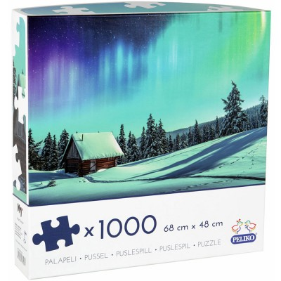Peliko Northern Lights 1000 Piece Jigsaw Puzzle