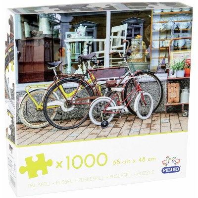 Peliko Bicycles 1000 Piece Jigsaw
