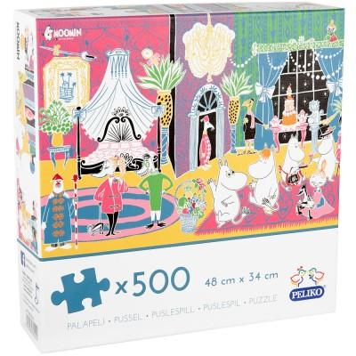 Peliko Moomin 500 Piece Jigsaw
