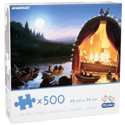 Moomin Animation 500 Piece Jigsaw