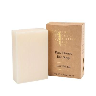 Raw Honey Soap Bar - Lavender